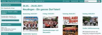 2011 – Charityprojekt für die Musikkapelle Neudingen